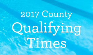 county qualifying times